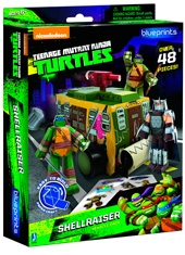 Papercraft Teenage Mutant Ninja Turtles TMNT Shellraiser