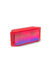 Parlante Mini Speaker Led Bluetooth Rojo Microlab