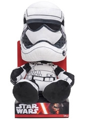 "Peluche 10"" Star Wars The Force Awakens Stormtrooper"