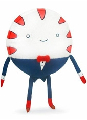 "Peluche Adventure Time 6"" Peppermint Butler"