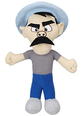 "Peluche Mini El Chavo 7"" Don Ramon"