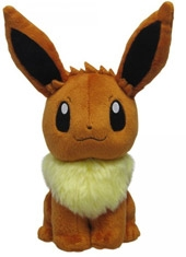 "Peluche Pokémon 7"" Pocket Monsters All Star Collection Eevee"