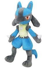 "Peluche Pokémon 12"" Pocket Monsters All Star Collection Lucario"