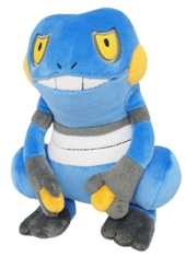 "Peluche Pokemon 7"" Croagunk"