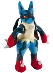 Peluche Pokemon Mega Lucario Training Tomy