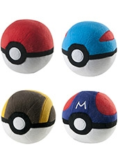 Peluche Pokemon Pokebola 5""