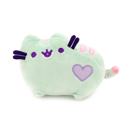Peluche Pusheen The Cat Mint Green Pastel Heart
