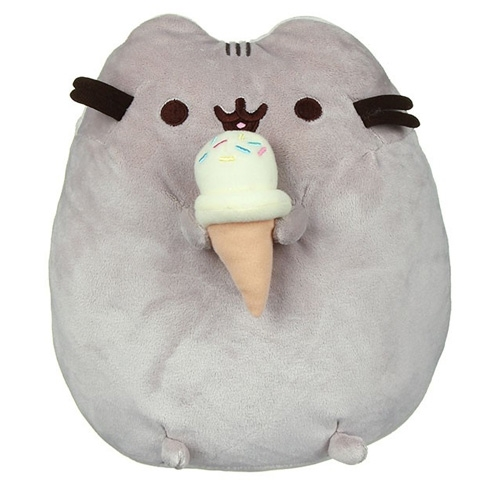Peluche Pusheen The Cat With Ice Cream Cone
