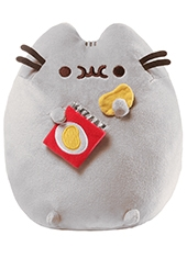 Peluche Pusheen The Cat With Potato Chips