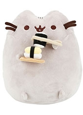 Peluche Pusheen The Cat With Sushi