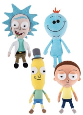 """Peluche Rick And Morty Galactic Plushies 10"""" Funko"""