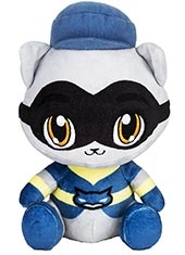 "Peluche Sly Cooper and the Thievius Raccoonus 6"" Sly Cooper Sony Stubbins"