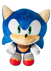 Peluche Sonic Boom The Hedgehog Big Head