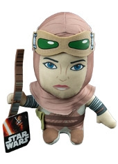 Peluche Super Deformed Star Wars The Force Awakens Rey