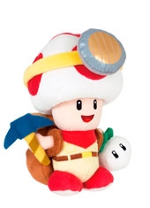Peluche Super Mario 9'' Captain Toad