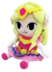 Peluche The Wind Waker Princesa Zelda 8""