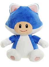Peluche World Of Nintendo Cat Toad Mario Bros U