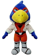 Peluche World of Nintendo Falco Lombardi 7""