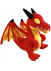 Peluche World Of Warcraft Crimson Whelpling Blizzard