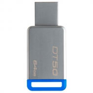 Pendrive Data Traveler 64GB DT50 Metal Blue Kingston