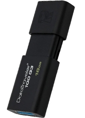 Pendrive Data Traveler USB 16GB DT100G3 Kingston