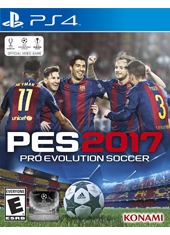 PES Pro Evolution Soccer 2017 PS4