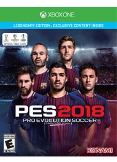 PES 2018 Pro Evolution Soccer Legendary Edition Xbox One