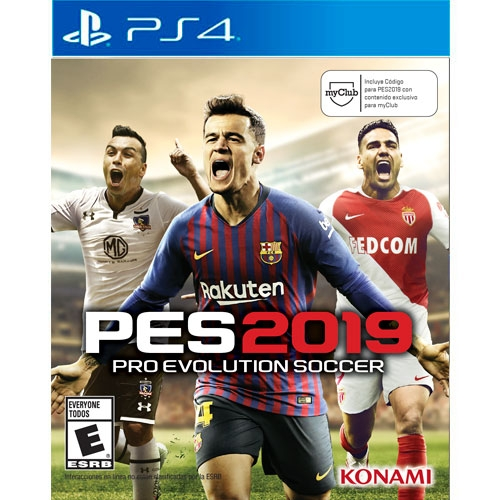 Pes 2019 Pro Evolution Soccer Ps4 Microplay