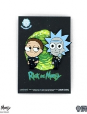 Pin Rick And Morty Cop 2 Pack