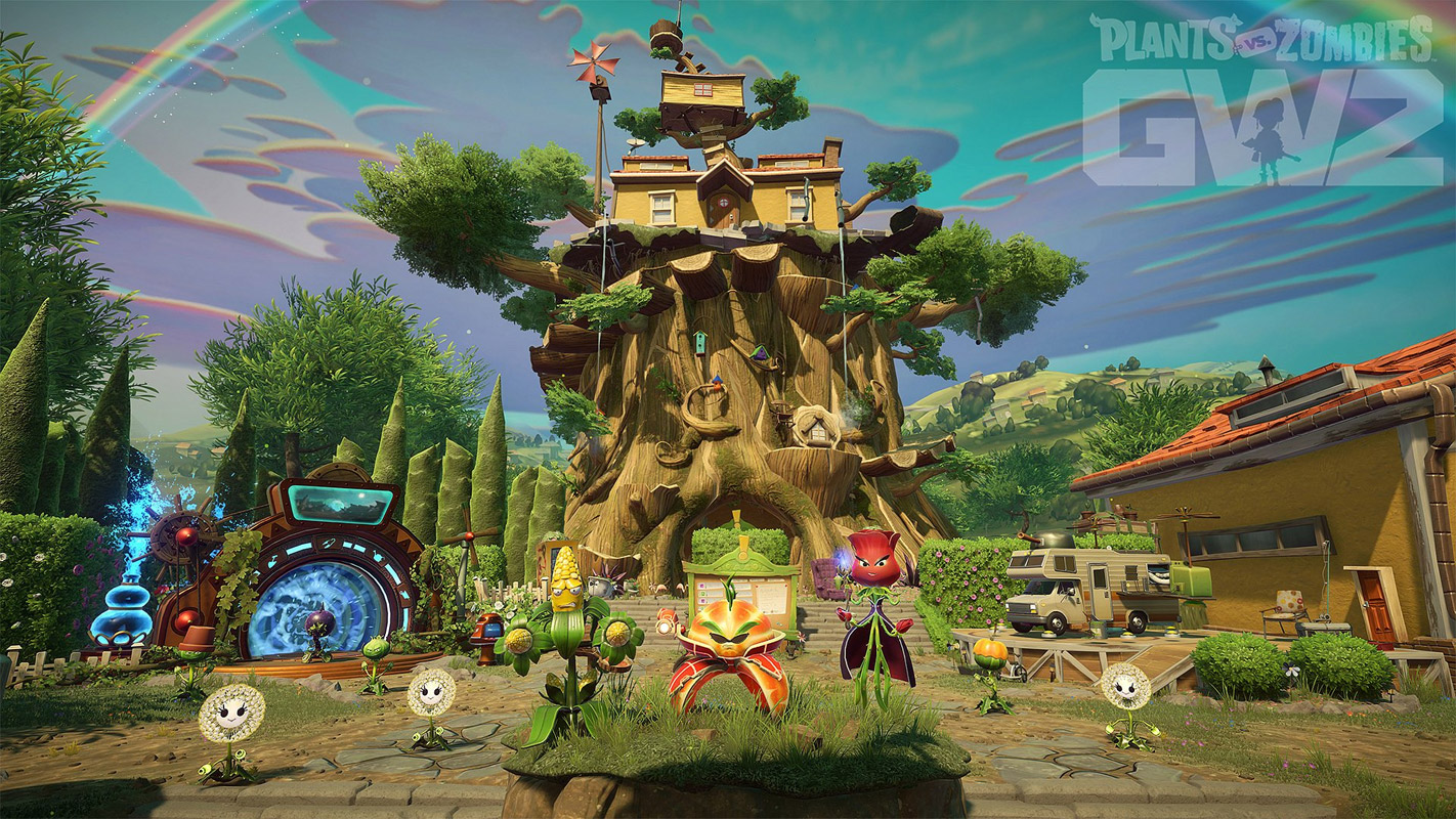 Plants vs zombies garden warfare 2 ps4 microplay - Plants vs zombies garden warfare 2 secrets ...