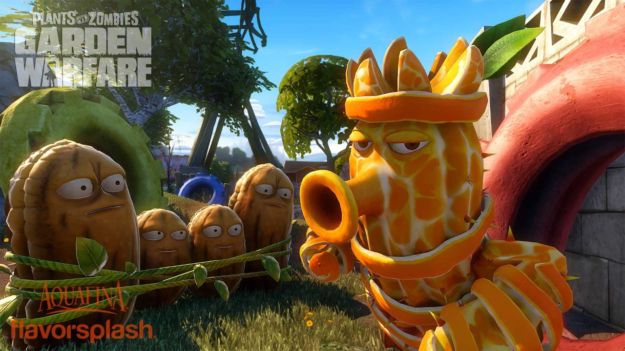 Plants Vs Zombies Garden Warfare Ps4 Microplay