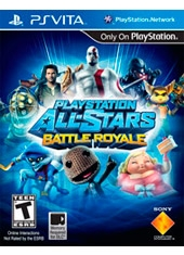 PlayStation All-Stars Battle Royale PS Vita