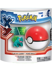 Pokebola Pokemon XY Clip and Carry