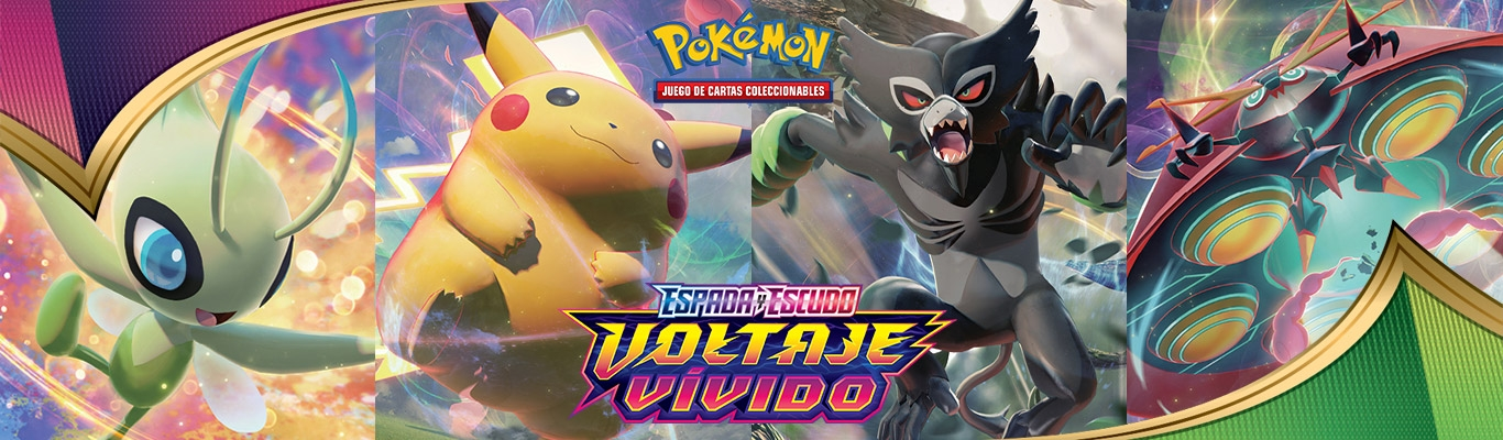 Pokemon TCG Voltaje Vívido - Vivid Voltage
