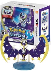 Pokemon Moon 3DS + Figura Lunala