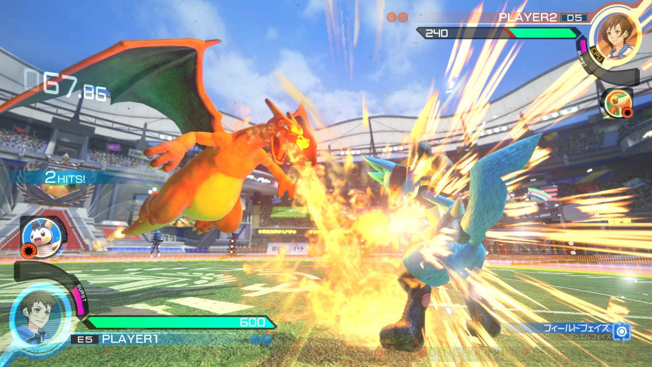 Pokken Tournament Dx Nintendo Switch Microplay