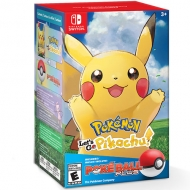 Pokémon Let's Go Pikachu Switch + Poké Ball Plus