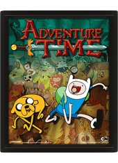 Poster 3D Adventure Time