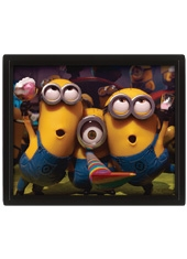 Poster 3D Minions