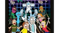 Poster 3D Rick And Morty Personajes