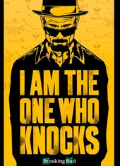 Poster Breaking Bad The One Who Knocks