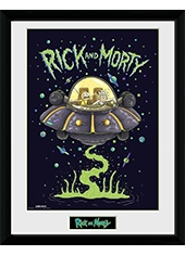 Poster Rick And Morty Collector Print