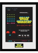 Poster Space Invaders Collector Print