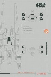 Poster Star Wars Rogue One U-Wing