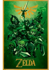 Poster The Legend of Zelda Link