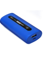 Power Bank 5600Mah Azul Microlab