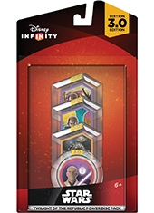 Disney Infinity 3.0 Edition Star Wars Twilight Of The Republic Power Disc Pack