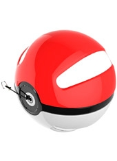 Powerbank 10000mAh Pokebola USB Microlab