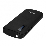 Cargador Powerbank 11.000 MAH DLP6006 Negro Philips