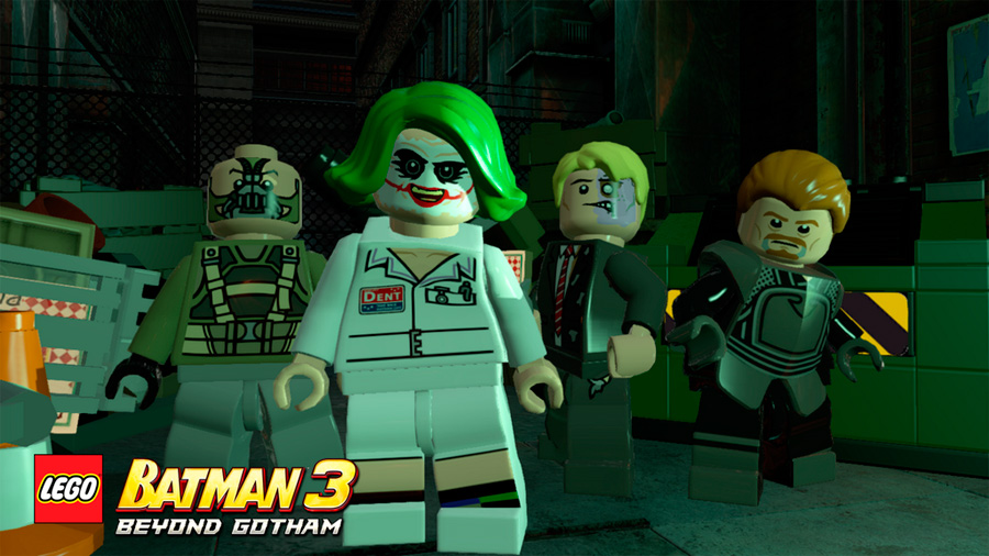 lego batman 3 disfraces